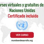 cursos virtuales sobre naciones unidas