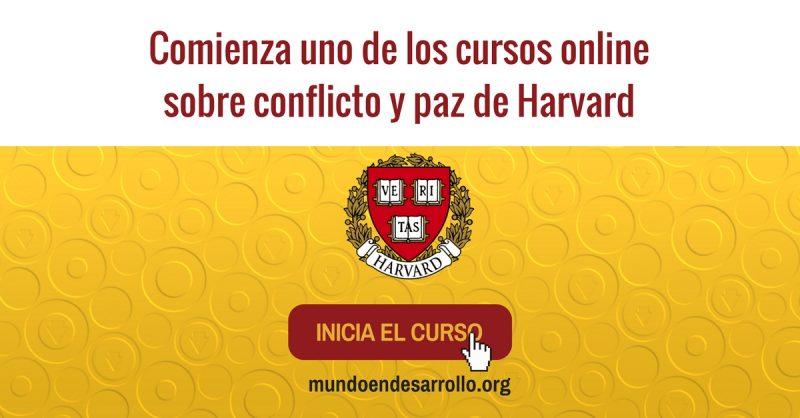Comienza uno de los cursos online sobre conflicto y paz de Harvard