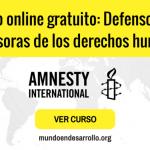 curso online gratuito de derechos humanos