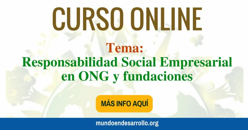 Curso online sobre Responsabilidad Social Empresarial en ONG y fundaciones