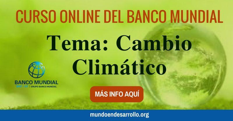 curso virtual del cambio climatico