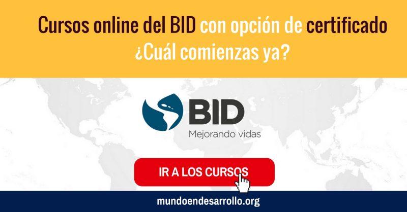 Cursos online del bid con certificado