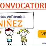 Convocatoria que beneficia a proyectos enfocados a los derechos de los niños