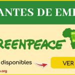 vacantes de empleo greenpeace
