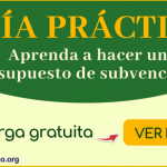 guia practica para subvenciones