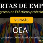 Ofertas de empleo en la OEA