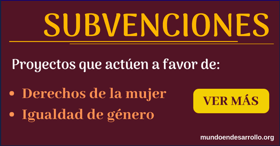Subvenciones y financiamientos