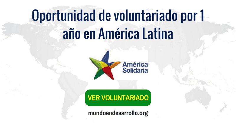Como ser voluntario por 1 año en América Latina