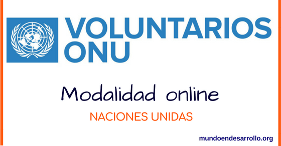voluntariados onu