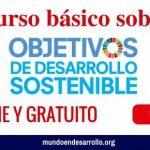 curso online sobre desarrollo sostenible