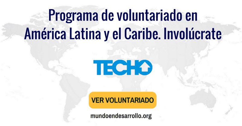 voluntariado en america latina
