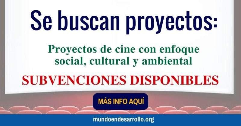 subvenciones para proyectos de cine