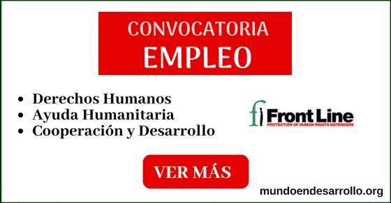 convocatorias laborales en derechos humanos