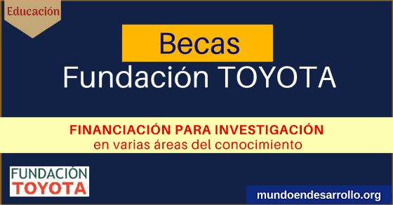 becas para investigacion