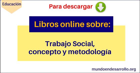 Libros online sobre Trabajo Social
