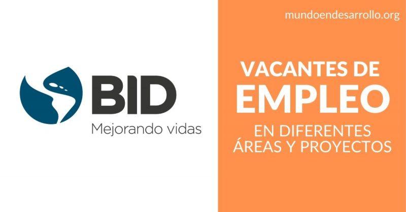 vacantes empleo bid