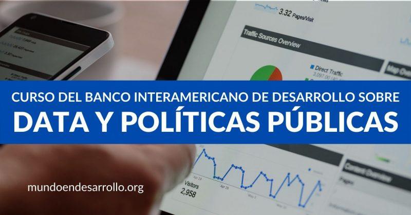 Curso sobre datos y políticas públicas del Banco Interamericano de Desarrollo
