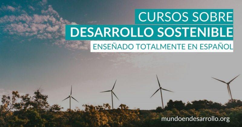 curso desarrollo sostenible español