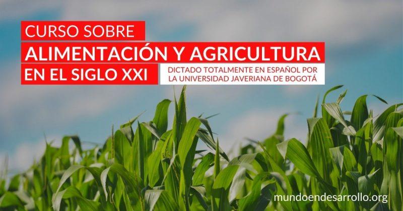 curso español alimentación agricultura