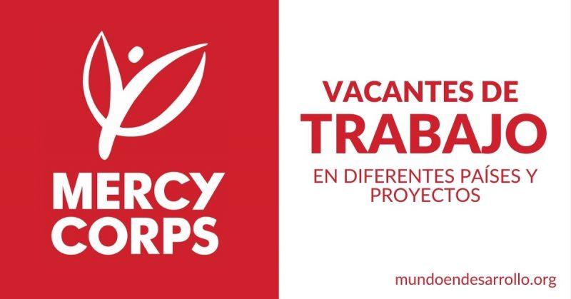 vacantes empleo mercy corps