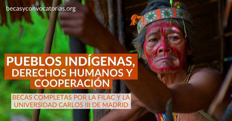 becas pueblos indigenas